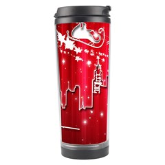 City Nicholas Reindeer View Travel Tumbler