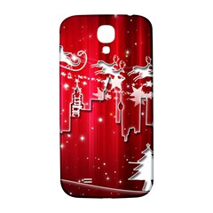 City Nicholas Reindeer View Samsung Galaxy S4 I9500/I9505  Hardshell Back Case