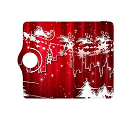 City Nicholas Reindeer View Kindle Fire HDX 8.9  Flip 360 Case