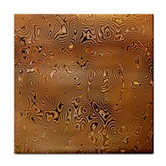 Circuit Board Pattern Tile Coasters