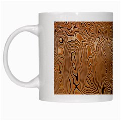 Circuit Board Pattern White Mugs