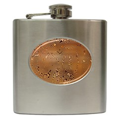 Circuit Board Pattern Hip Flask (6 oz)