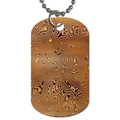 Circuit Board Pattern Dog Tag (Two Sides)