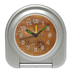 Circuit Board Pattern Travel Alarm Clocks