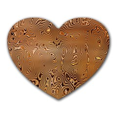 Circuit Board Pattern Heart Mousepads