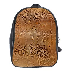 Circuit Board Pattern School Bags(Large)