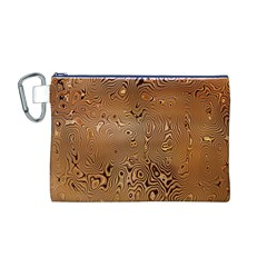 Circuit Board Pattern Canvas Cosmetic Bag (M)
