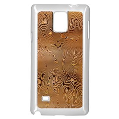 Circuit Board Pattern Samsung Galaxy Note 4 Case (white)