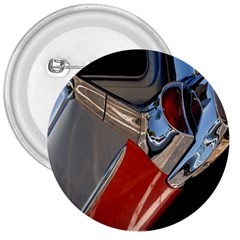 Classic Car Design Vintage Restored 3  Buttons