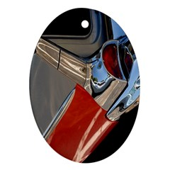 Classic Car Design Vintage Restored Ornament (Oval)