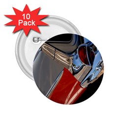 Classic Car Design Vintage Restored 2.25  Buttons (10 pack)