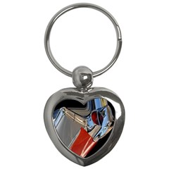 Classic Car Design Vintage Restored Key Chains (heart)
