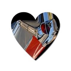 Classic Car Design Vintage Restored Heart Magnet