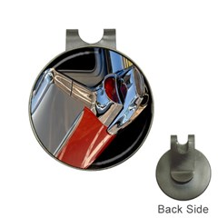 Classic Car Design Vintage Restored Hat Clips with Golf Markers