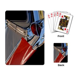 Classic Car Design Vintage Restored Playing Card