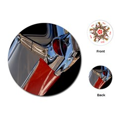 Classic Car Design Vintage Restored Playing Cards (round)