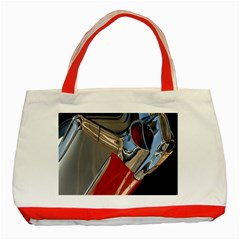 Classic Car Design Vintage Restored Classic Tote Bag (Red)