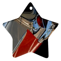 Classic Car Design Vintage Restored Star Ornament (Two Sides)