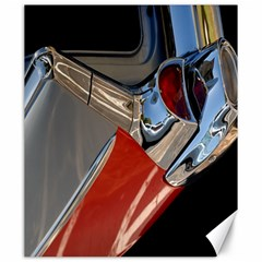 Classic Car Design Vintage Restored Canvas 20  X 24