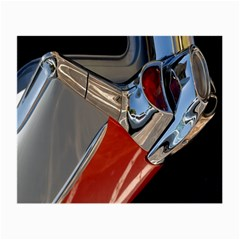 Classic Car Design Vintage Restored Small Glasses Cloth (2-Side)