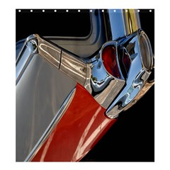 Classic Car Design Vintage Restored Shower Curtain 66  x 72  (Large)