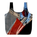 Classic Car Design Vintage Restored Full Print Recycle Bags (L)  Front