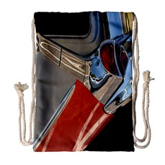 Classic Car Design Vintage Restored Drawstring Bag (large)