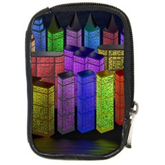 City Metropolis Sea Of Light Compact Camera Cases