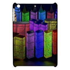 City Metropolis Sea Of Light Apple Ipad Mini Hardshell Case