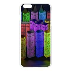 City Metropolis Sea Of Light Apple Seamless iPhone 6 Plus/6S Plus Case (Transparent)
