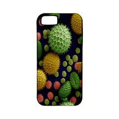 Colorized Pollen Macro View Apple iPhone 5 Classic Hardshell Case (PC+Silicone)