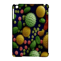 Colorized Pollen Macro View Apple Ipad Mini Hardshell Case (compatible With Smart Cover)