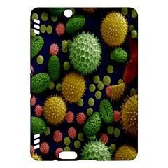 Colorized Pollen Macro View Kindle Fire Hdx Hardshell Case