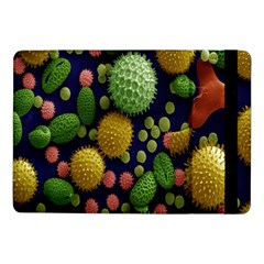 Colorized Pollen Macro View Samsung Galaxy Tab Pro 10 1  Flip Case