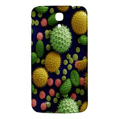 Colorized Pollen Macro View Samsung Galaxy Mega I9200 Hardshell Back Case