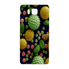 Colorized Pollen Macro View Samsung Galaxy Alpha Hardshell Back Case