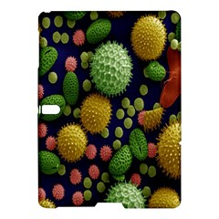 Colorized Pollen Macro View Samsung Galaxy Tab S (10.5 ) Hardshell Case