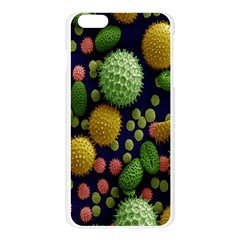 Colorized Pollen Macro View Apple Seamless iPhone 6 Plus/6S Plus Case (Transparent)