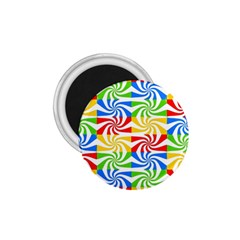 Colorful Abstract Creative 1.75  Magnets