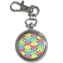 Colorful Abstract Creative Key Chain Watches
