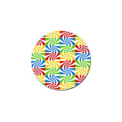 Colorful Abstract Creative Golf Ball Marker (4 pack)