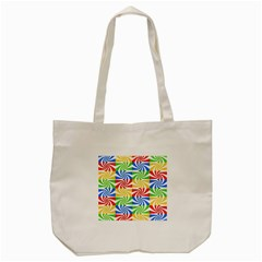 Colorful Abstract Creative Tote Bag (Cream)