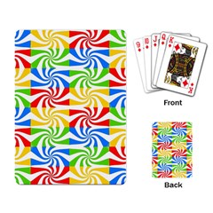 Colorful Abstract Creative Playing Card