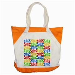Colorful Abstract Creative Accent Tote Bag