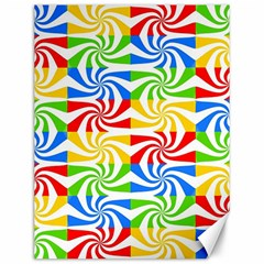 Colorful Abstract Creative Canvas 12  x 16