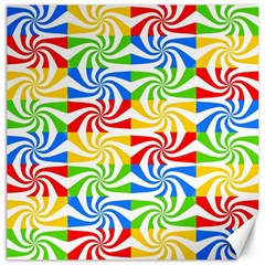 Colorful Abstract Creative Canvas 16  x 16