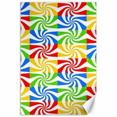 Colorful Abstract Creative Canvas 24  X 36