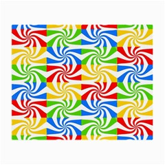 Colorful Abstract Creative Small Glasses Cloth (2 Side)