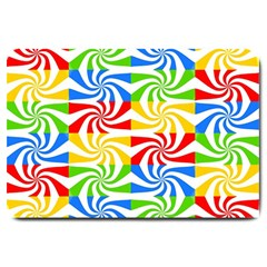 Colorful Abstract Creative Large Doormat
