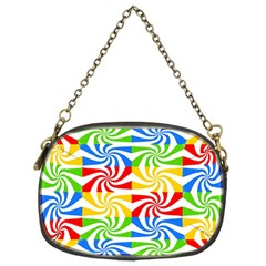 Colorful Abstract Creative Chain Purses (Two Sides)